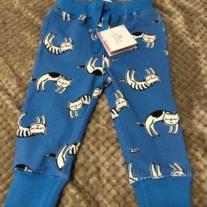 Hanna Andersson 2T girls cat jogger pants NWT